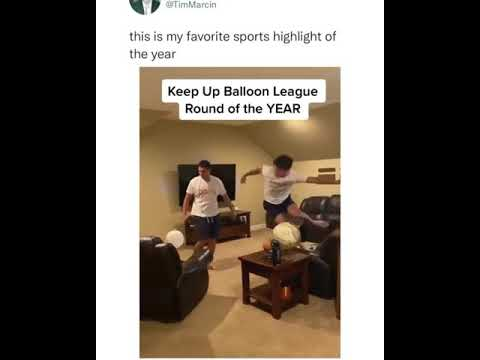 Keep up balloon League: Round of the year 😳
