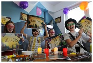 kids playing escape room games